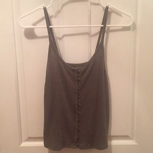AE Olive Green Tank Top